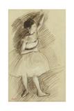 Study of a Dancer; Etude De Danseuse  1873-1874