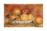 Still-Life with Apples and Oranges; Nature Morte Aux Pommes Et Oranges  Late 1890's