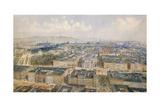Panorama of Vienna  1871