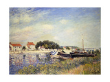 Banks of the Loing at Saint-Mammes; Bords Du Loing a Saint-Mammes  1885