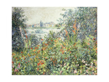 Flowers at Vetheuil; Fleurs a Vetheuil  1881