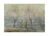 Flood in Giverny; L'Inondation a Giverny  C1896