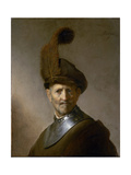 An Old Man in Military Costume (Formerly Called Portrait of Rembrandt's Father)  C1630
