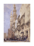 The Gate of Metwaley  Cairo  1838