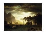 Passing Storm in Yosemite  1865