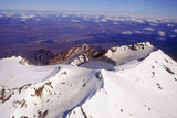 Mount Ruapehu Volcano  New Zealand