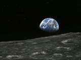 Earthrise Photograph  Artwork