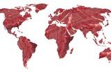 Global Meat Eating  Conceptual Artwork