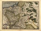 Ortelius's Map of Poland  1570
