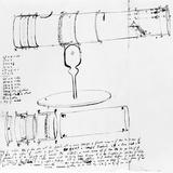Newton's Telescope  Historical Artwork