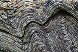 Folded Rock Formation