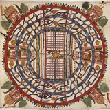 Jain Cosmological Map  19th Century