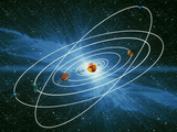 Artwork of the Orbits of the Planets