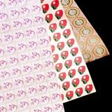 Sheets of LSD (acid) Tabs
