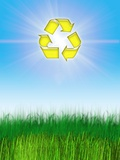 Environmental Recycling  Conceptual Image
