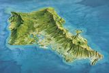 Oahu Island  Hawaii  USA