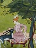 Indian Miniature  Animal Kindness Ahimsa