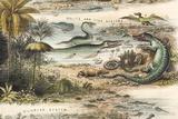 1849 the Antidiluvian World Crop Jurassic