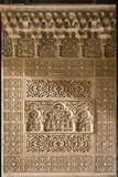 Islamic Carvings  Alhambra  Spain
