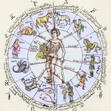 Medical Zodiac  15th Century Diagram