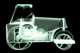 Toy Tin Tractor  X-ray