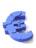 Euro Crisis  Conceptual Artwork