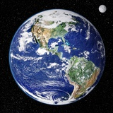 Earth From Space  Satellite Image