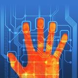 Fingerprint Scanner  Artwork