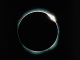 The Diamond Ring Effect During a Solar Eclipse