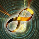 Infinity Symbol And Black Hole