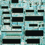Circuit Board with Microprocessors  Etc