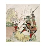 Sima Wengong (Shiba Onko) and Shinozuka  Lord of Iga (Shinozuka-Iga-No-Teami)  1821