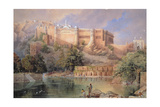 The Fort at Amber  Rajasthan  1863