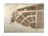 View of New Amsterdam  Costello Plan  1660