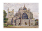 West Front  Exeter Cathedral