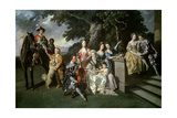 The Family of Sir William Young (1725-88) C1766