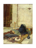 The White Feather Fan  1879