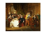 Shakespeare and His Friends at the Mermaid Tavern  1850