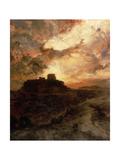 Sunset  Pueblo Del Walpe  Arizona  1880