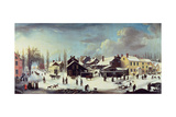 Winter Scene in Brooklyn  C1817