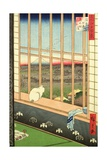 Asakusa Rice Fields During the Festival of the Cock from the Series '100 Views of Edo'  Pub 1857