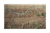 A Balloon View of London  Published by Banks and Company  1851