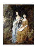 The Linley Sisters (Mrs Sheridan and Mrs Tickell) 1771/72