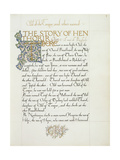 Ms 270* F1R the Story of Hen Thorir  C1873-4