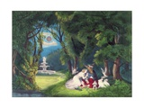 A Midsummer Night's Dream  Pub by Currier and Ives  New York