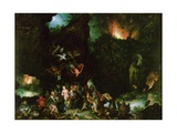 The Temptation of St Anthony - Hell  1594
