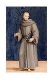 St Anthony of Padua  Panel from the Predella of the Colonna Altarpiece  C1502