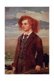 Portrait of Algernon Charles Swinburne (1837-1909)
