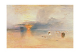 Calais Sands at Low Water  Poissards Gathering Bait  1830