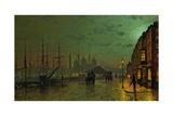 Prince's Dock  Hull  1882